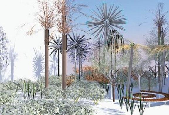 «الفن جميل» يتوّج عملاً يعتمد تكنولوجيا الضوء لصنع حديقة
