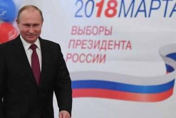 فلاديمير بوتن يفوز بولاية رئاسية رابعة في الانتخابات الروسية