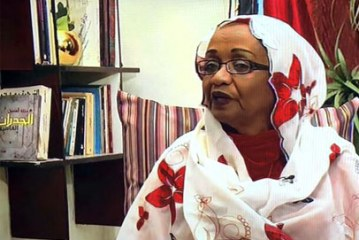 الروائية السودانية (ملكة الفاضل) في ماراثون السرد