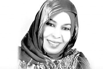 """الشاعرة السودانية """"روضة الحاج"""" في ضيافة بيت الشعر"""