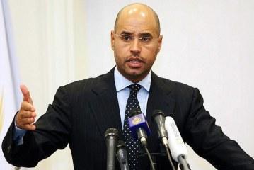 سيف الإسلام القذافي يعلن ترشحه لرئاسة ليبيا