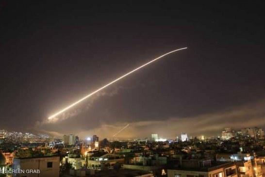 """دمشق: تصدينا """"للعدوان"""" وأسقطنا 13 صاروخا"""