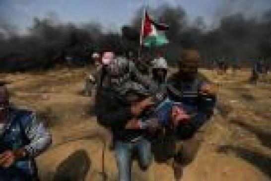 قوات إسرائيلية تقتل 3 محتجين وتصيب 400 في غزة