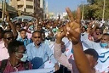 استمرار التظاهرات بالخرطوم وأنباء عن سقوط قتيل بمنطقة بري