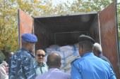 ضبط سيارة نقل (ثلاجة) تهرب دقيق المخابز بإمتداد ناصر