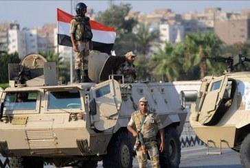 الجيش المصري يعلن مقتل 8 مسلحين بمنطقة متاخمة لحدود ليبيا