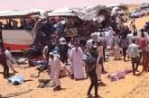 وفاة (40) شخص واصابة أخرين في حادث مروع بشريان الشمال