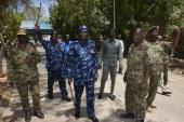 إنتشار قوات الشرطة السودانية بالطرق والكبارى