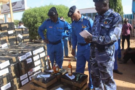 السودان: ضبط كميات من الخمور المستوردة بحي السفارات بكافوري
