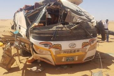 وفاة 12 وإصابة 37 في حادث مروع بطريق (عطبرة – مروي)