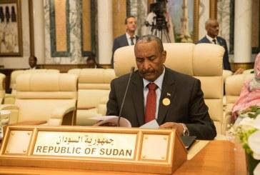 البرهان: السودان سيظل جزءا اصيلا من التحالف العربى باليمن