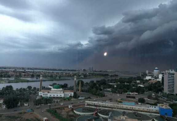 هطول أمطار متفرقة بالخرطوم وتوقعات بطقس حار بشمال البلاد