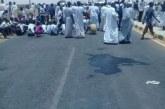 محتجون يغلقون كبري (السليم – دنقلا) لساعات لتردي الخدمات