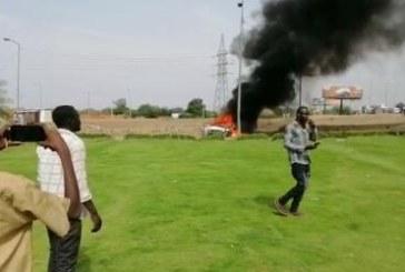 جهاز المخابرات العامة يوضح ملابسات إصابة مواطن وحرق عربة ضابط