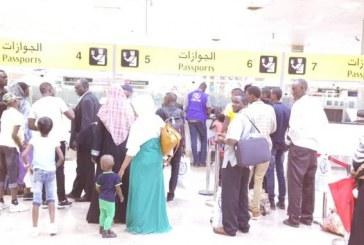 عودة (114) سودانيا طوعا من جمهورية مصر