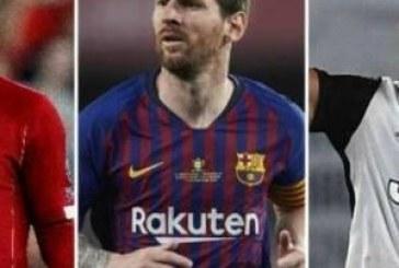 ميسي ورونالدو وفان دايك.. من يفوز بأفضل لاعب في أوروبا ؟