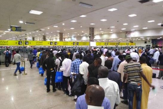 إجلاء دفعة جديدة من السودانيين العالقين بليبيا