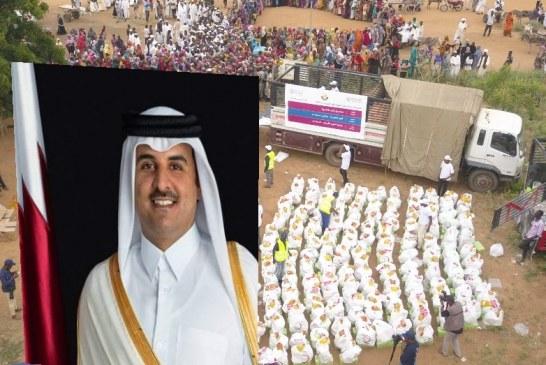 أمير قطر يوجه بمساعدة المتأثرين بالسيول والأمطار بالسودان