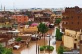 هطول امطار غزيرة الى متوسطة بالخرطوم