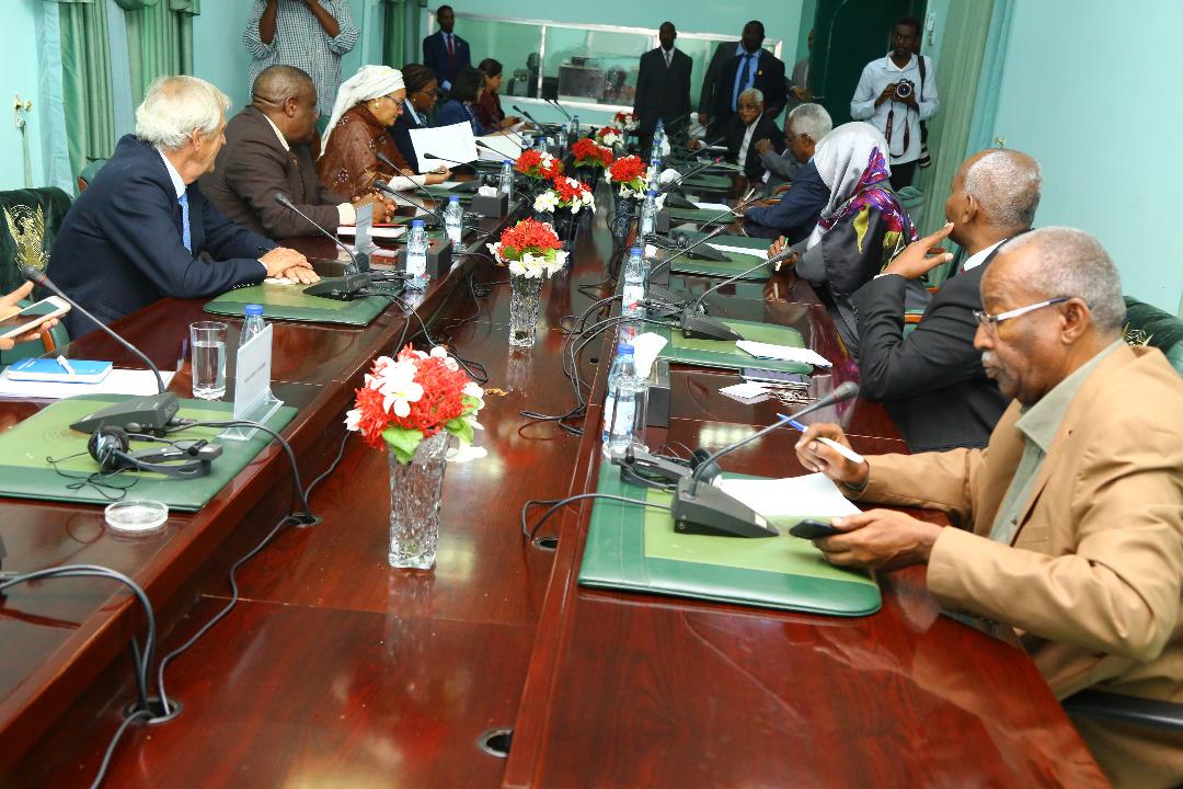 مباحثات مشتركة بين الحكومة السودانية ووفد الأمم المتحدة بالخرطوم