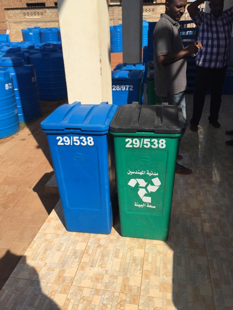 تدشين مبادرة إعادة تدوير النفايات بحي المهندسين بأمدرمان