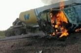 مصرع (8) أشخاص احتراقا في حادث مروري بطريق التحدي