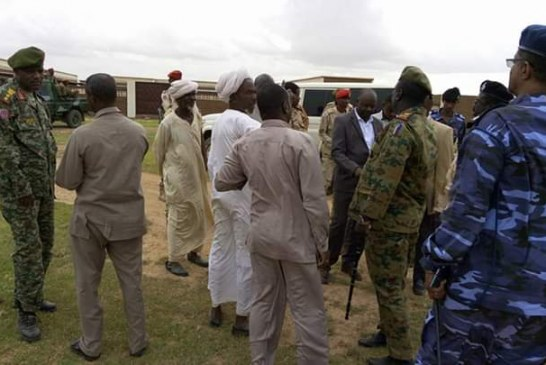 أحداث شغب تؤدي الي إحراق مقر حكومي بغرب دارفور