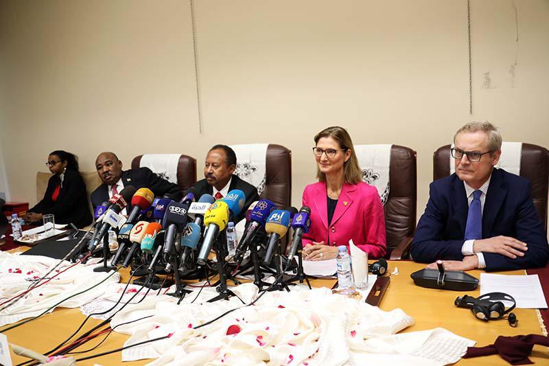 مشاركة دولية واسعة في اجتماع أصدقاء السودان