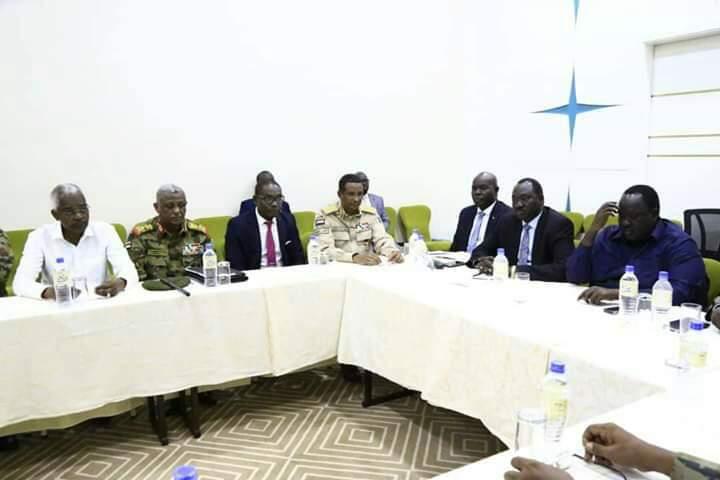 الجبهة الثورية ترفض إشراك الحرية والتغيير بمفاوضات جوبا