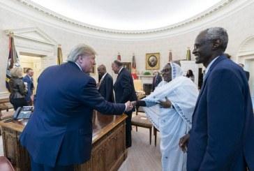 ترامب يلتقي وزراء سودانيين ويثني بدور السودان في مباحثات سد النهضة