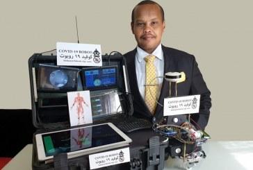 """مهندس سوداني بالإمارات يخترع روبوتاً يرصد مصابي كورونا """"عن بعد"""""""