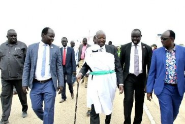 زعيم الحركة الوطنية لجنوب السودان يصل جوبا قادما من المانيا